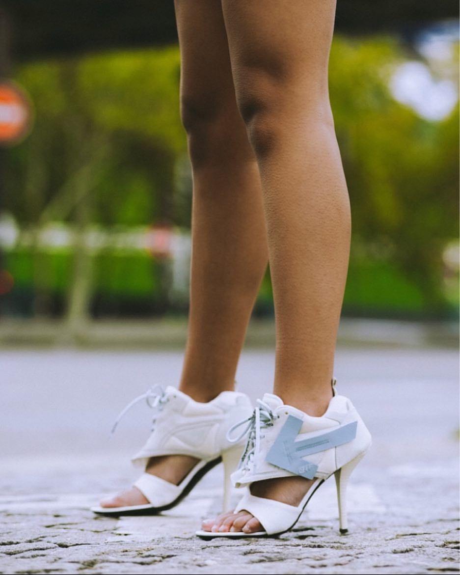 ss19 women's Off-White™ runner heels
