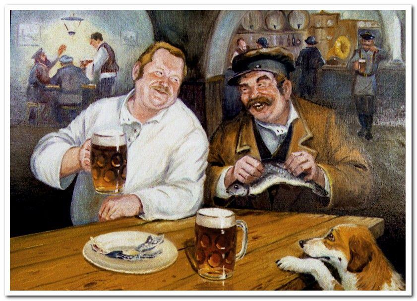 Смешные картинки мужик с пивом, розами нарисованными