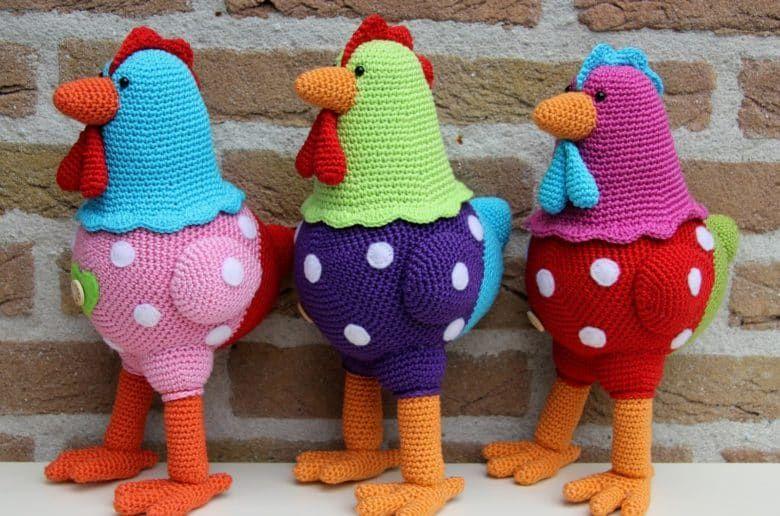 Crochet Scrubbies Free Patterns Top Pins Chicken Pattern Crochet