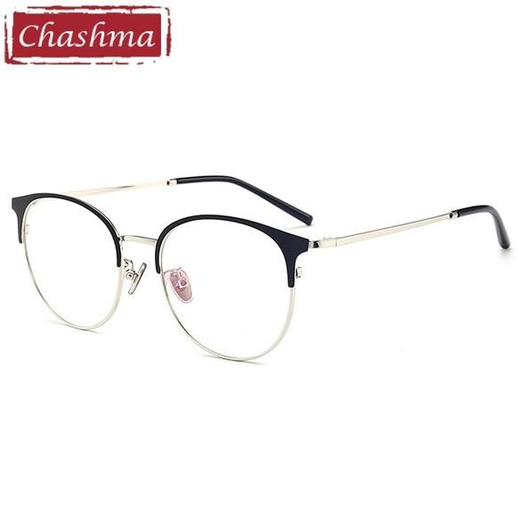 838f7d5e2b78 Chashma Brand Quality Eye Frames Retro Big Circle Eyeglasses Female Male Prescription  Glasses Full Rimmed Round Glasses