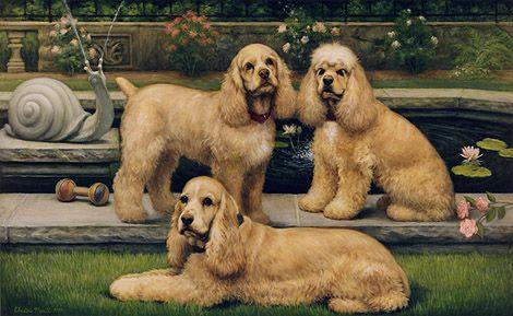 Christine Merrill pet portraits - These guys look like my little Tate's ancestors. :)