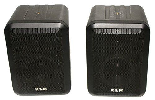 Pair Of Klh 980 Black Indoor Outdoor 2 Way Speakers 100w Click Image For More Details Outdoor Speakers Home Audio Speakers Speaker