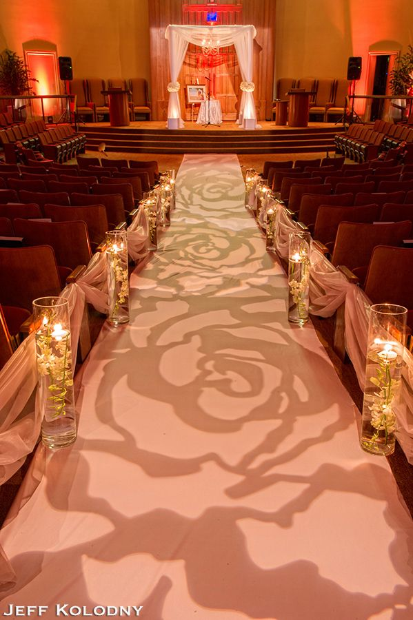 Rent A Fabric Backdrop For The The Ceremony Rent Cylinder Vases To