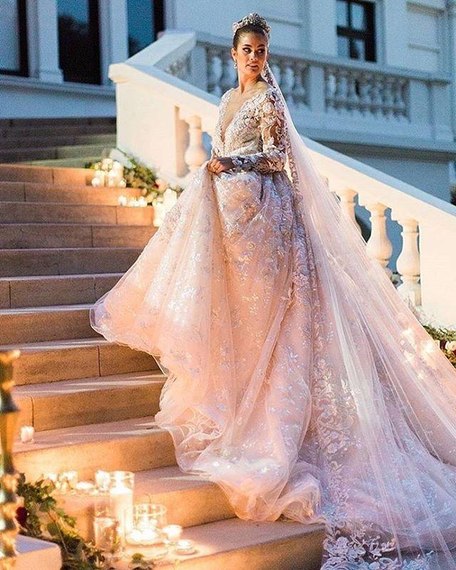d29d09cbeb4 Ysa Makino wedding gown
