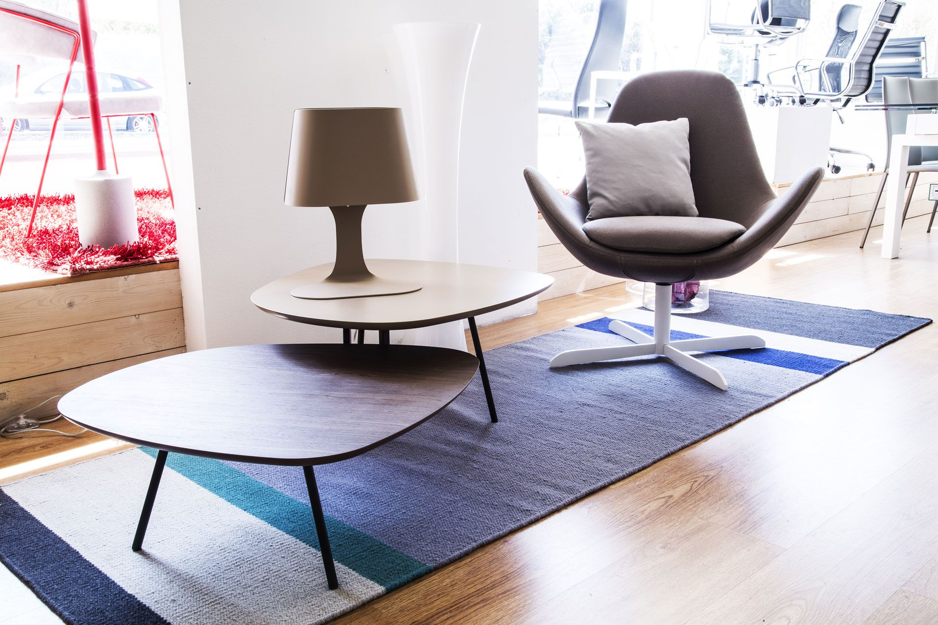 Calligaris Tweet Coffee Table With Double Toptweet Is The Quick Changing,