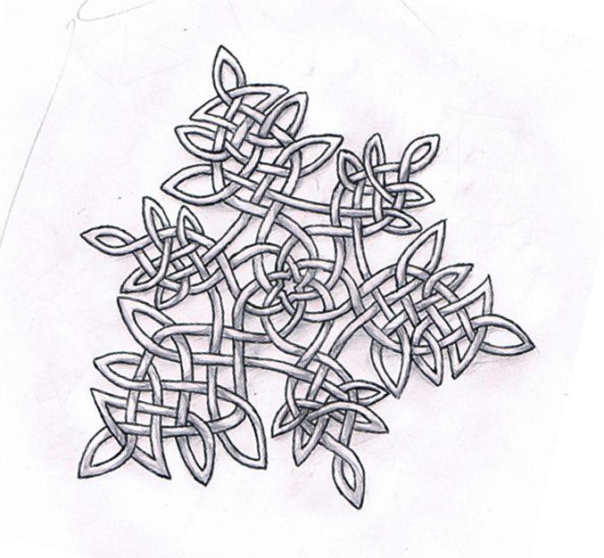 Celtic Knotwork Snowflake | Practical stuff & info | Pinterest ...
