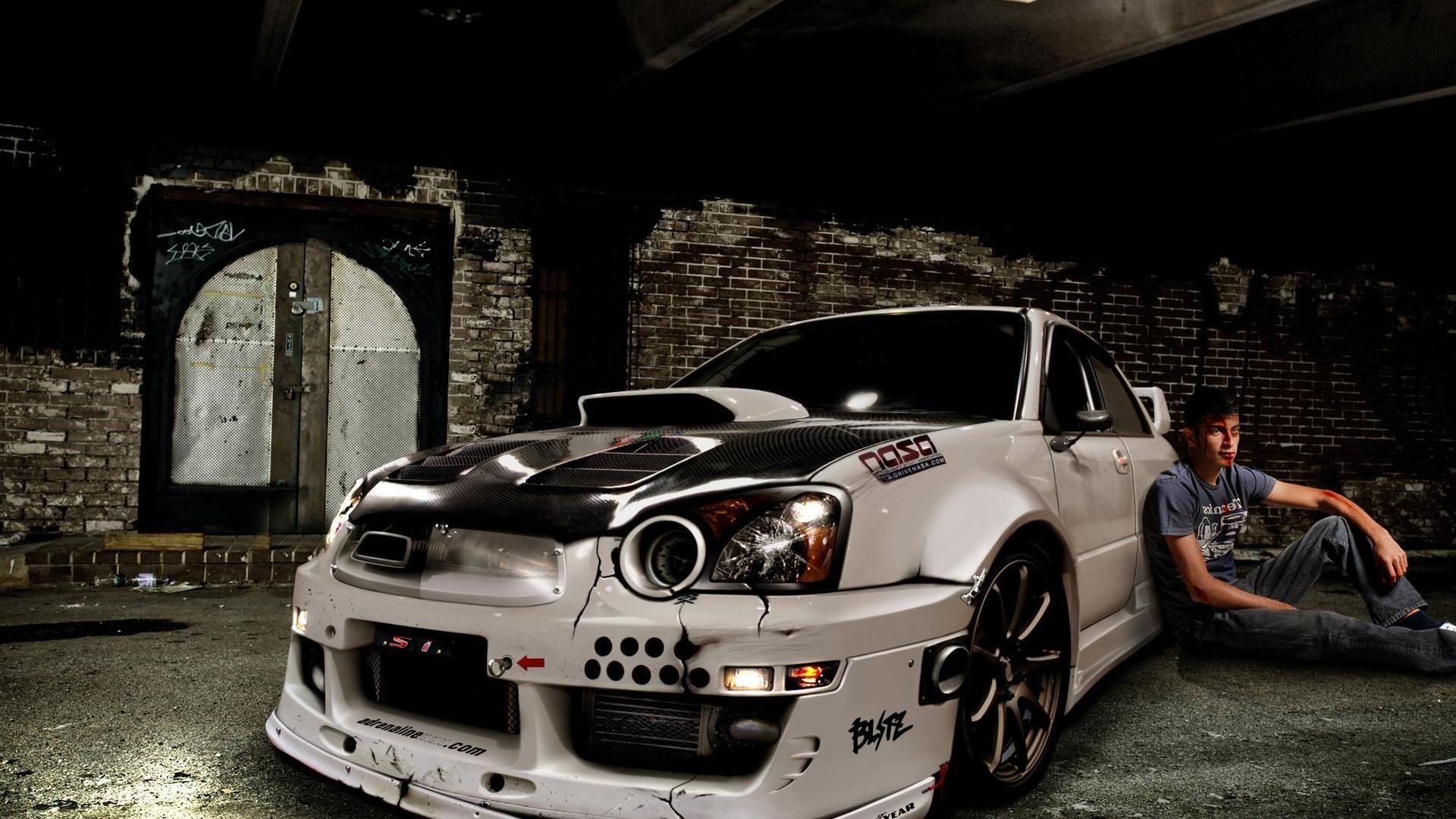 Subaru Impreza Crash Cars Desktop Hd Wallpaper Tuner Cars Car Wallpapers Subaru Impreza