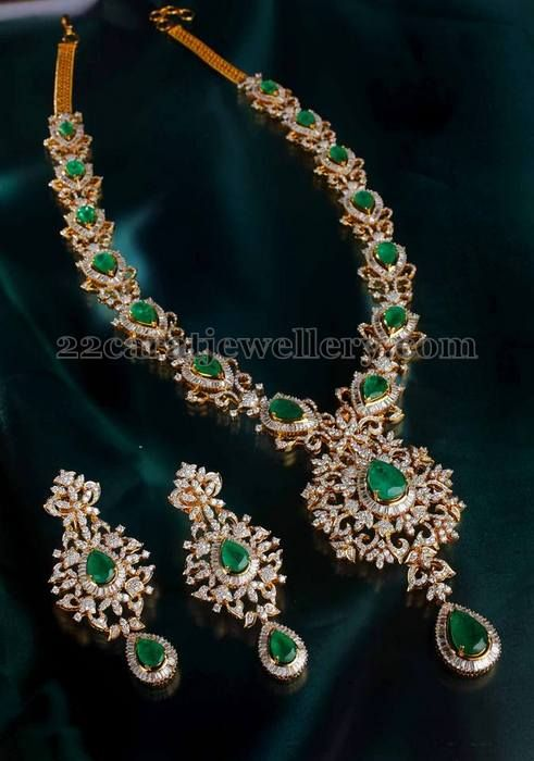 Jewellery Designs Bridal Long Chain from Mangatrai Indian
