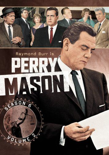 Perry Mason Season Six Vol 2 Perry Mason Raymond Burr Perry