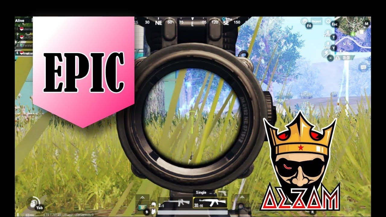 My First Epic Battle   PUBG MOBILE Gameplay PC (Emulator