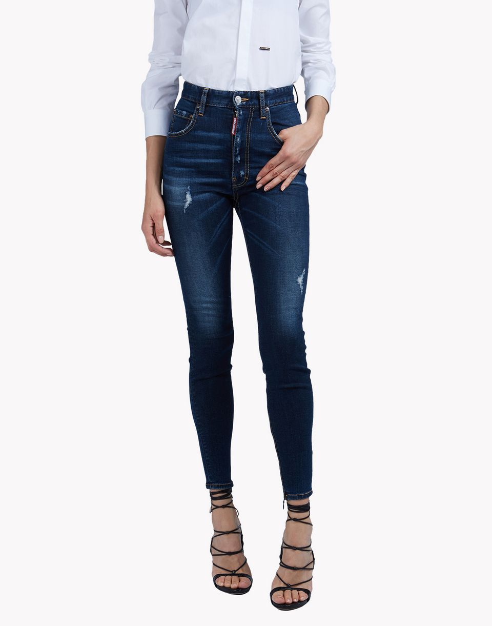 High Waist Twiggy jeans - Blue Dsquared2