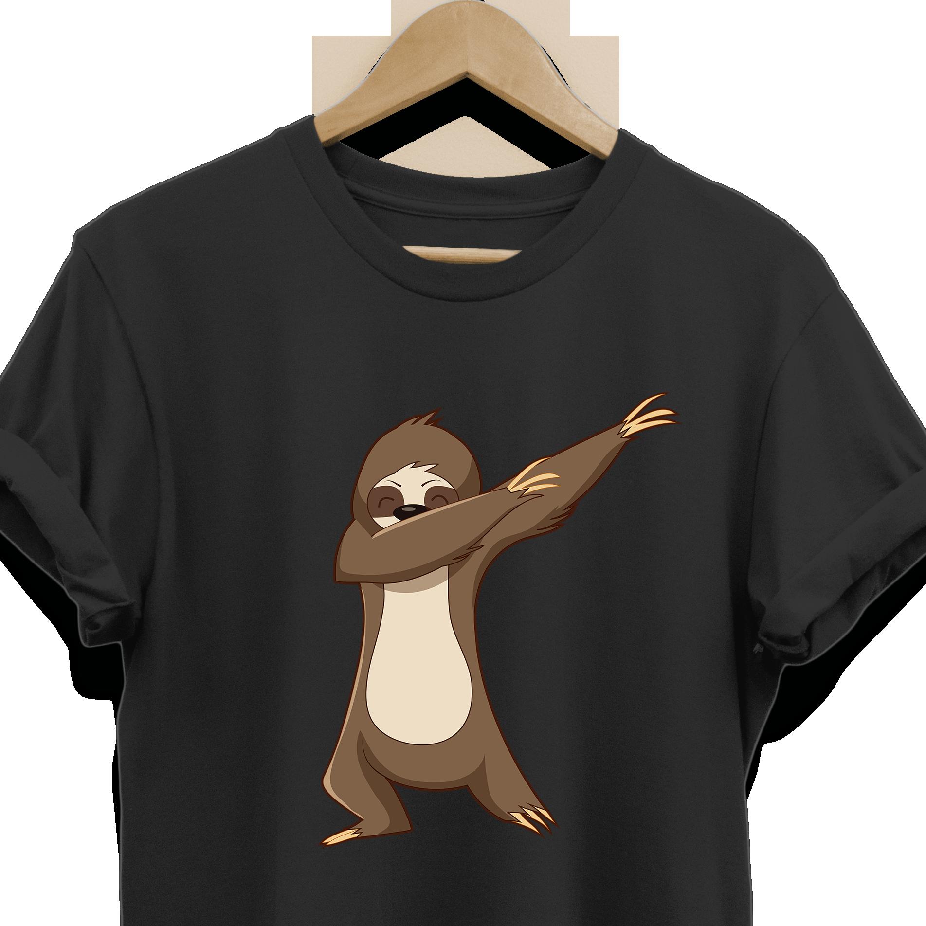 a353733b9717 Dabbing Sloth Tee Shirt for Men Women Boys Girls Kids, Gifts for Sloth  Animal Lovers