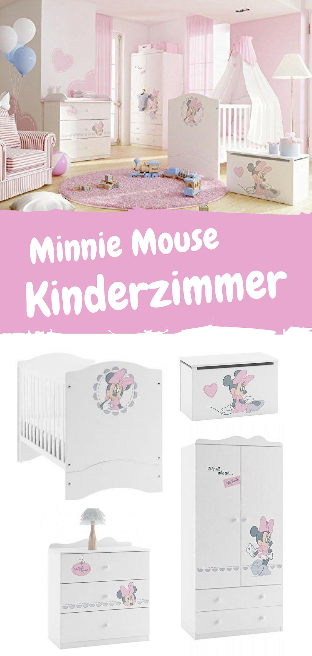 """SchlafzimmerSet Kindermöbel """"Minnie Mouse"""" komplettes"""