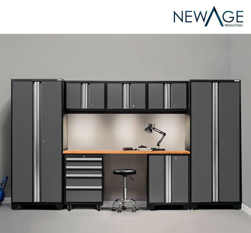 Storage Cabinet 8 Piece Set