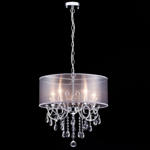 Dazhuan Modern Pendant Crystal Drum Style Chandeliers Ceiling
