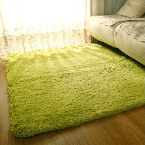 Fluffy Anti Skid Shaggy Area Rug Dining Room