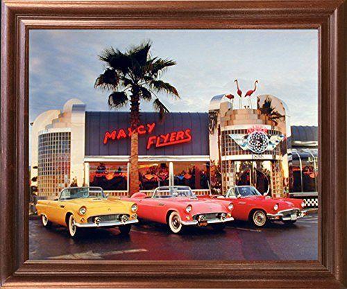 1955 1956 1957 Ford Thunderbirds Vintage Car Wall Decor M... https ...