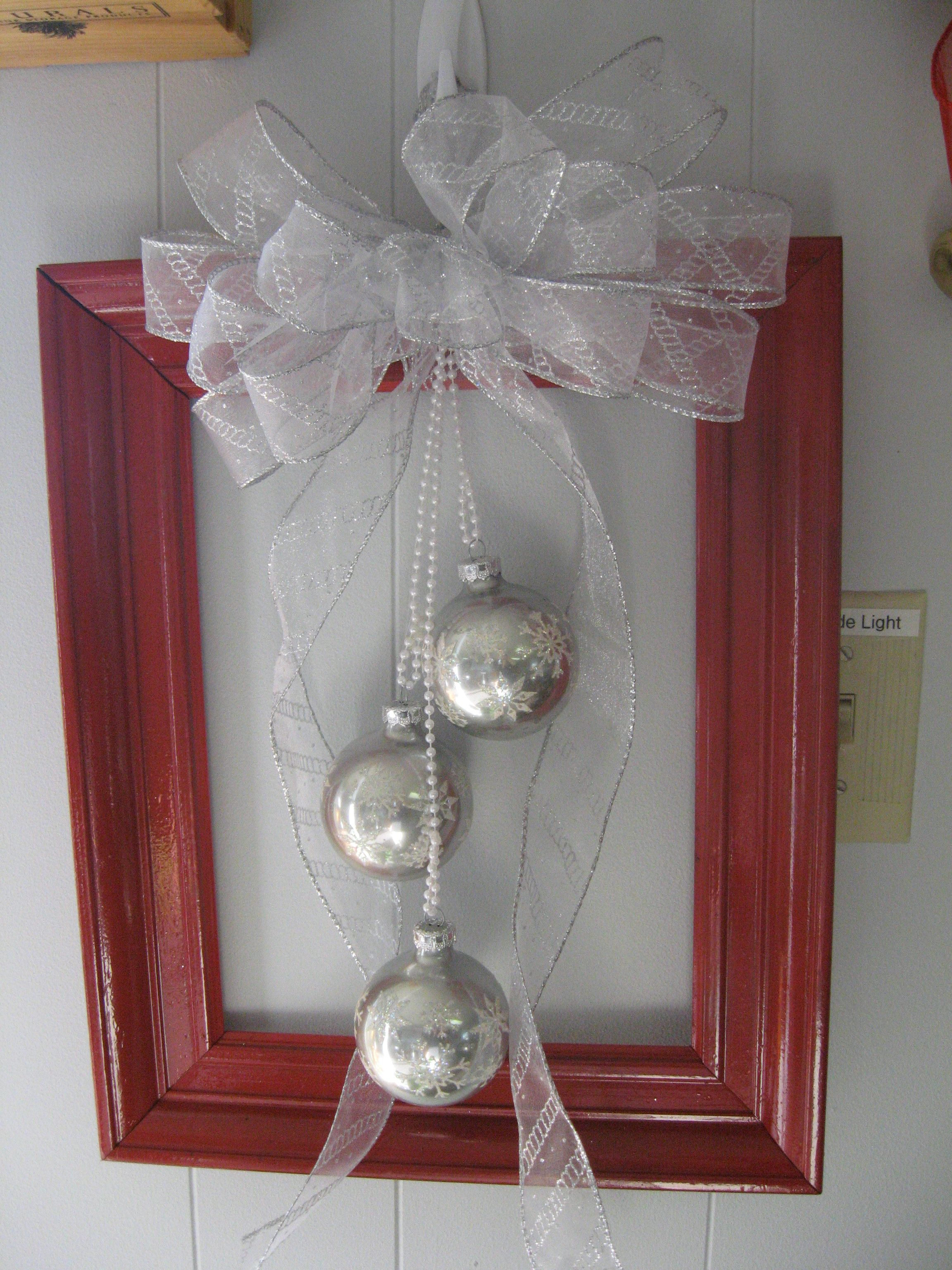 frame with ornaments