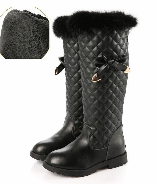 48f87717148e Fancy Holiday Waterproof Snow  Rain Kids Boots