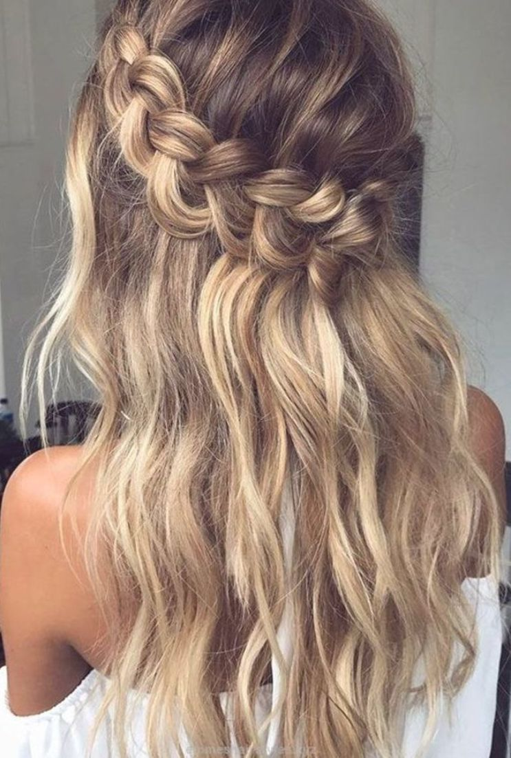 Prom Hoco Hair Wedding Updo Hairstyles Braid Styles For Long Or Medium Length Hair E In 2020 Braided Hairstyles Easy Thick Hair Styles Braided Hairstyles For Wedding