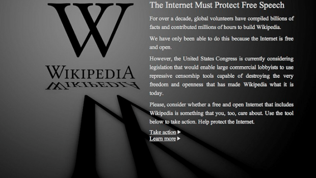 SOPA and PIPA would mean the end many things that have made the Internet (and the world) a better place: Wikipedia, YouTube, Google, and countless social networking sites.  Call your reps and senators and tell them Hollywood and the music industry must ADAPT to new technology, not use their money to legislate against it.  Isn't that what the free market is supposed to be about?