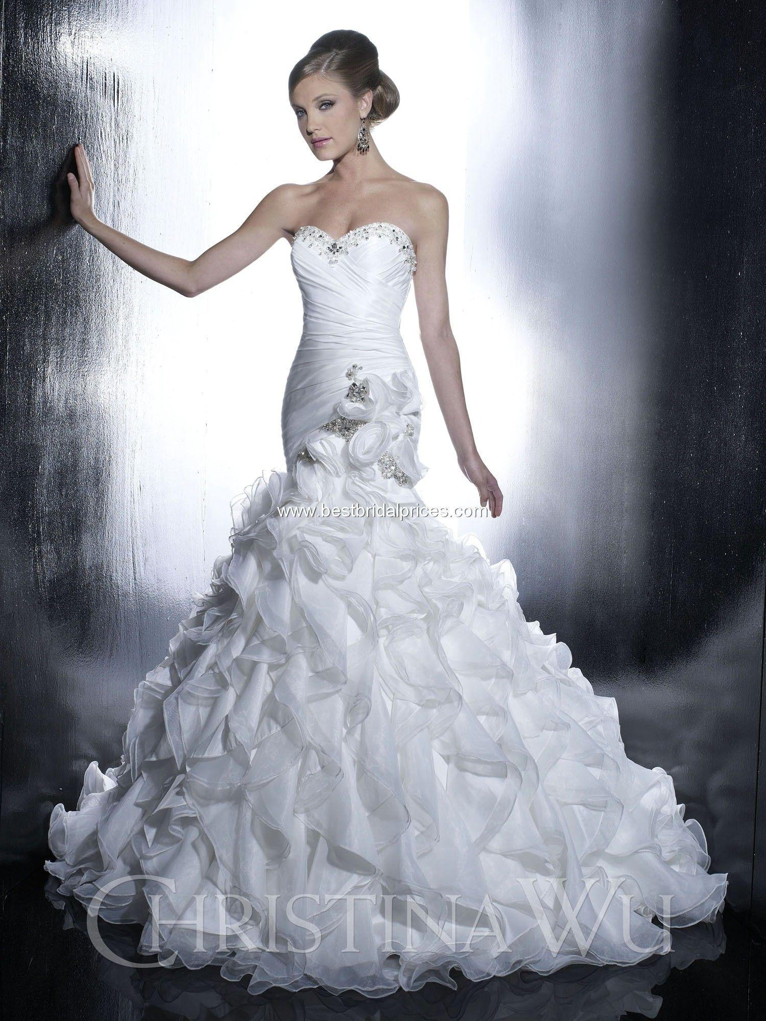 Christina Wu Wedding Dresses - Style 15513 #wedding #dress | The ...