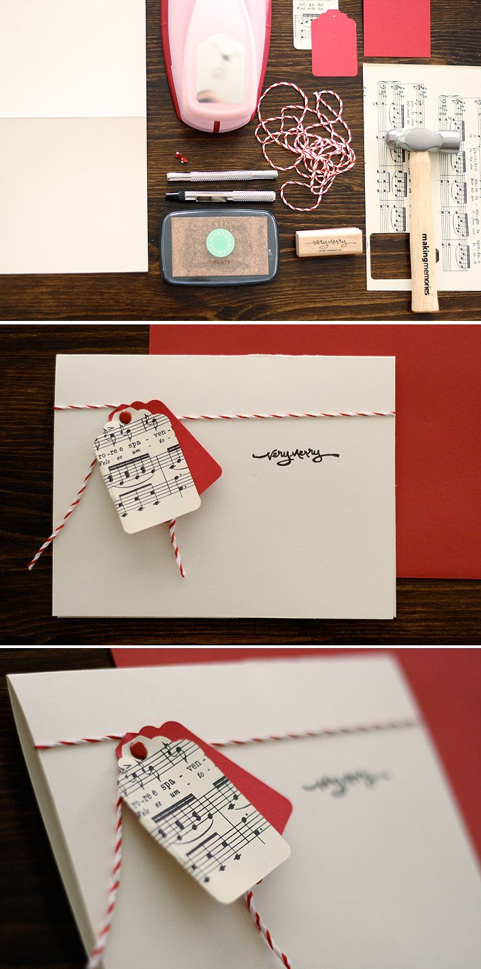 DIY Christmas Card | Ashlee Profit  I think this would only be Christmas-ey with…
