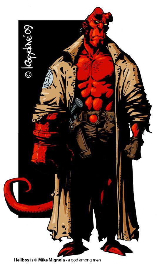 hellboy by loopydave deviantart com on deviantart i like everything rh pinterest com Hellboy Kroenen Hellboy Kroenen