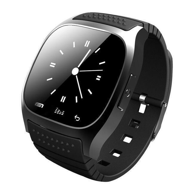 EastVita M26 Smartwatch Bluetooth Waterproof Smart Watch With LED Alitmeter Music Player