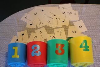 Note value relay game, and some other ideas for music games that get kids moving!: