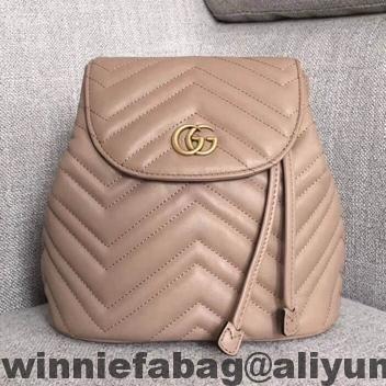 c64a975a95d Gucci GG Marmont Matelassé Backpack 528129 2018