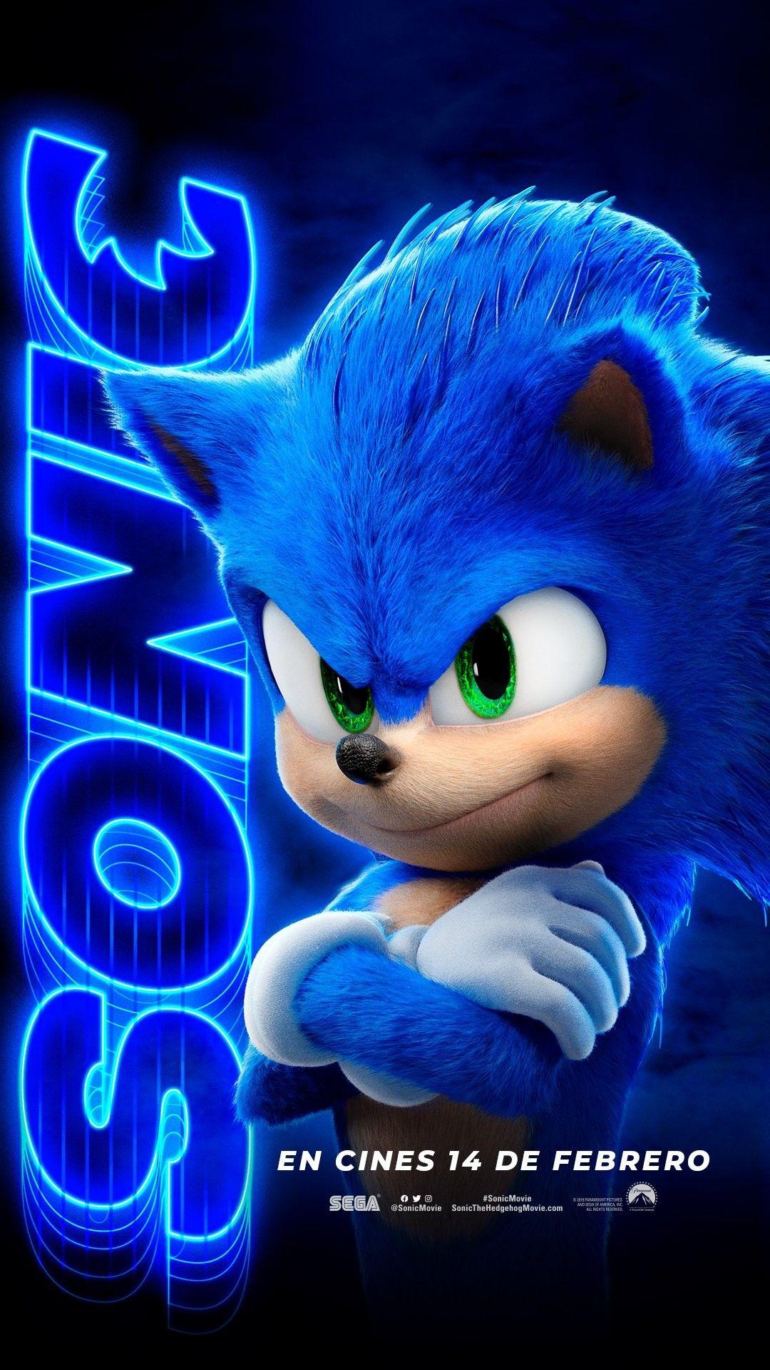 """Tenho que. Ir. Rápido!"", CatchSonic SonicMovie 13 de"