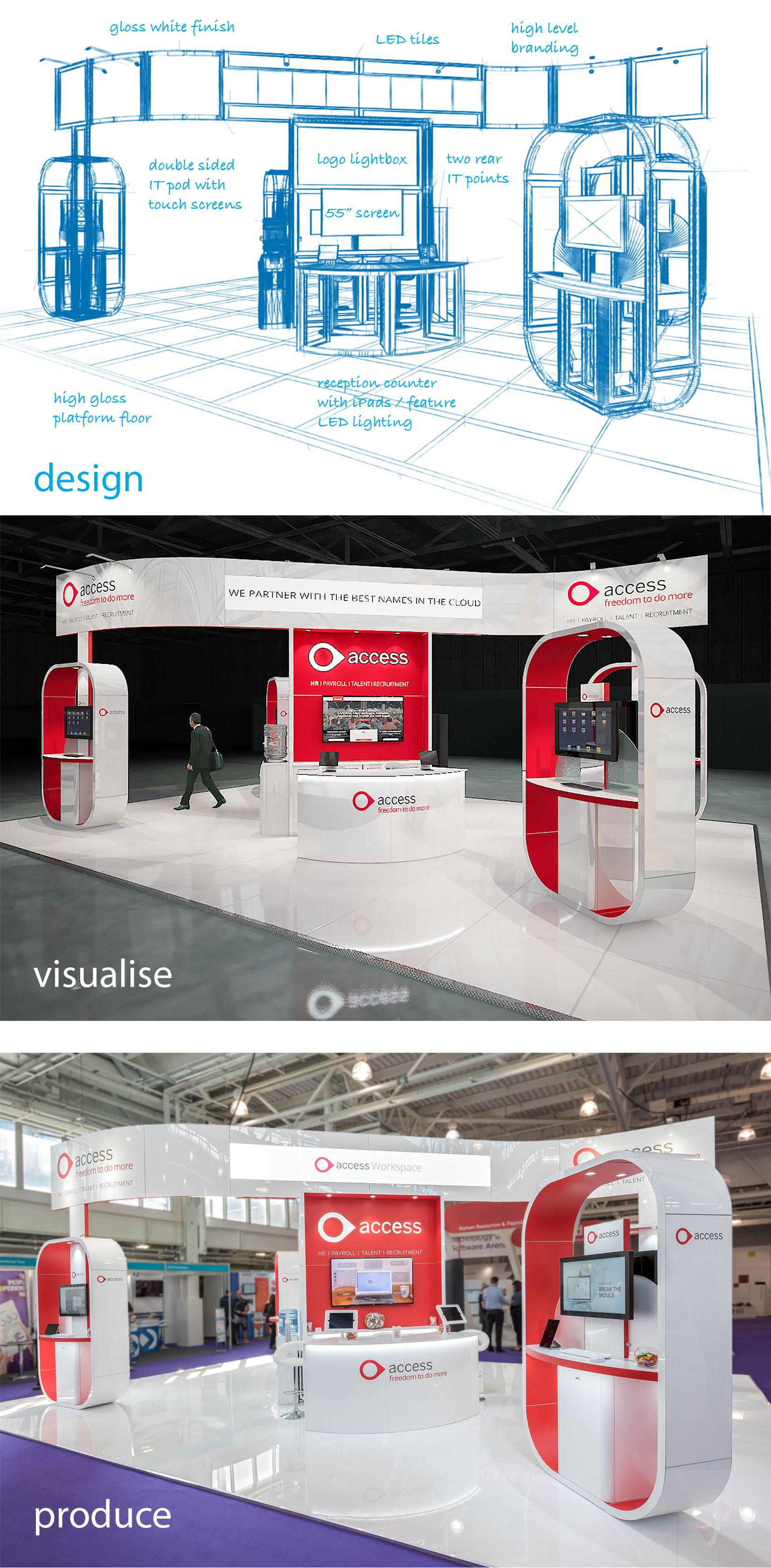 Custom Modular Exhibition Stands : Modular custom exhibition stand m m custom exhibit booth