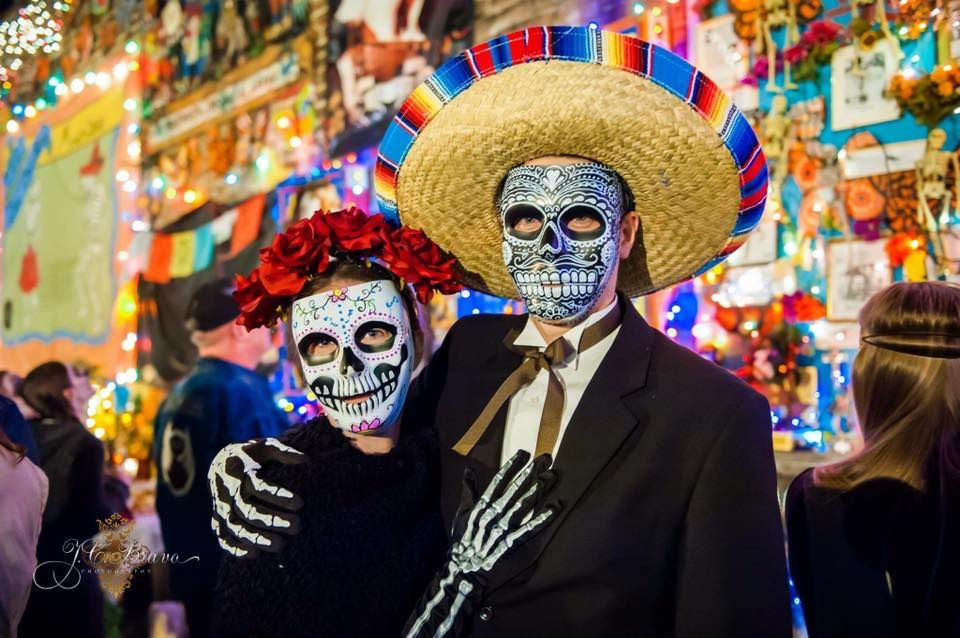 Annual Day of the Dead festival