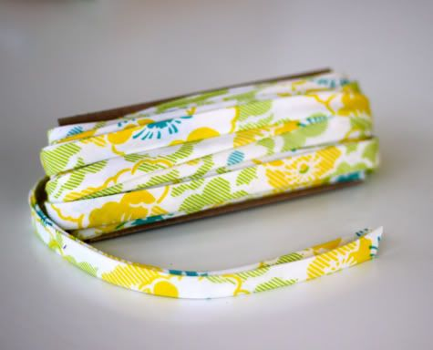 How to Make Bias Tape | Prudent Baby