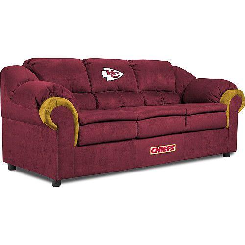 Enjoyable Kansas City Chief Sofa If Only Lonnie Like The Chiefs Bralicious Painted Fabric Chair Ideas Braliciousco