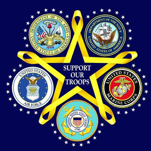 Five branches of U.S. military: Army, Navy, Air Force, Marines ...