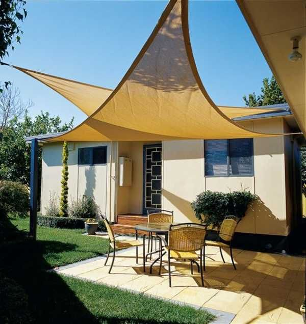 Coolaroo Outdoor Shades | Coolaroo Shade Sails Triangle | Home Design  Pictures Canvas Patio Covers,