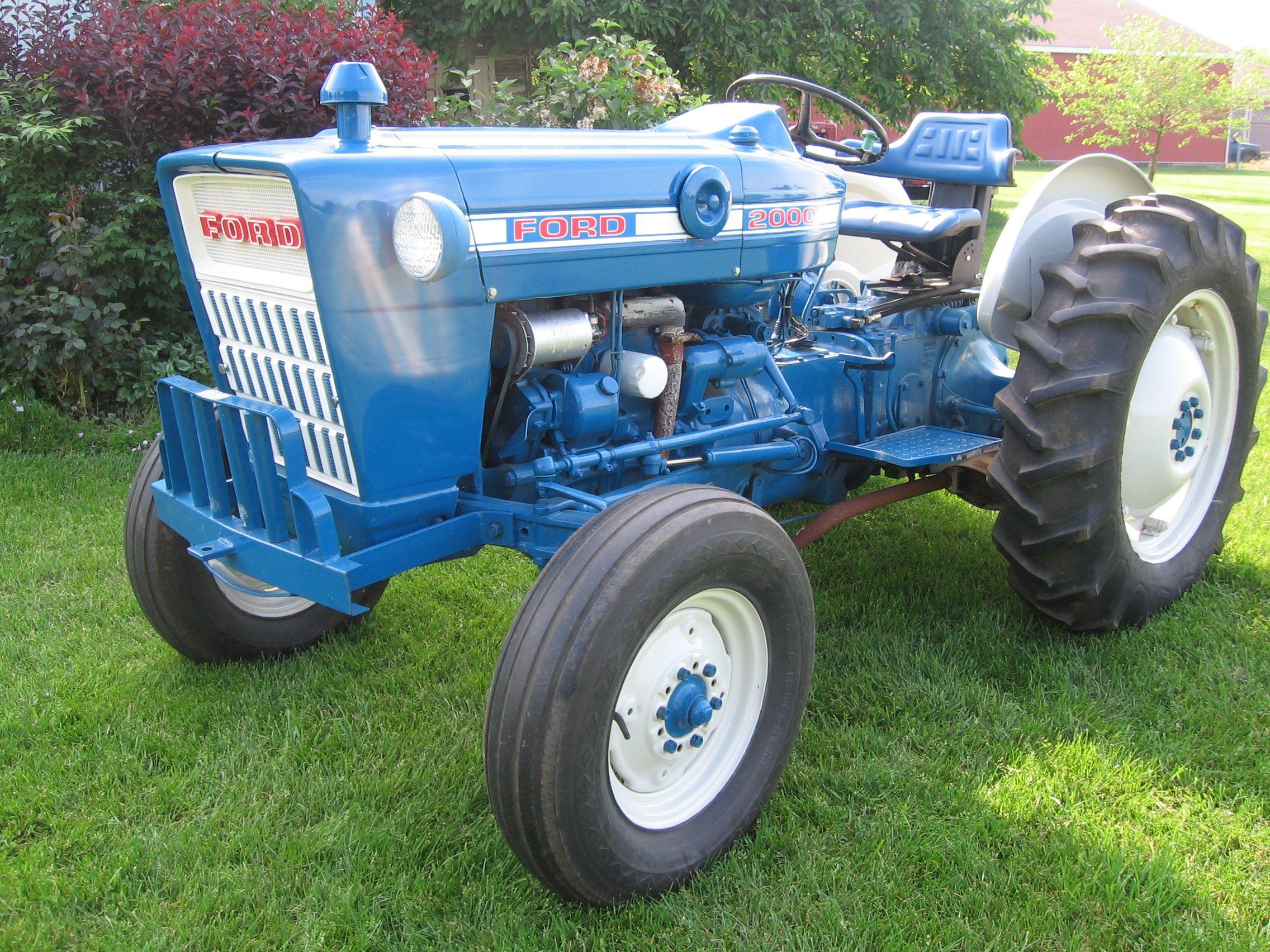Ford 3000 Tractors Classic Tractor Vintage Tractors
