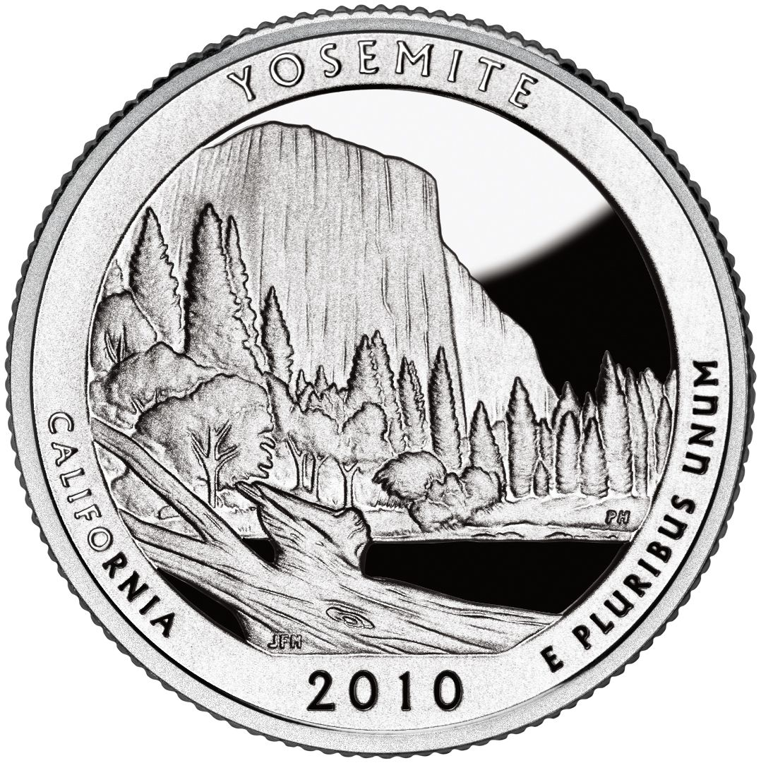 "US USA AMERICA THE BEAUTIFUL QUARTER 2010 MOUNT HOOD /""P/"" COIN UNC"