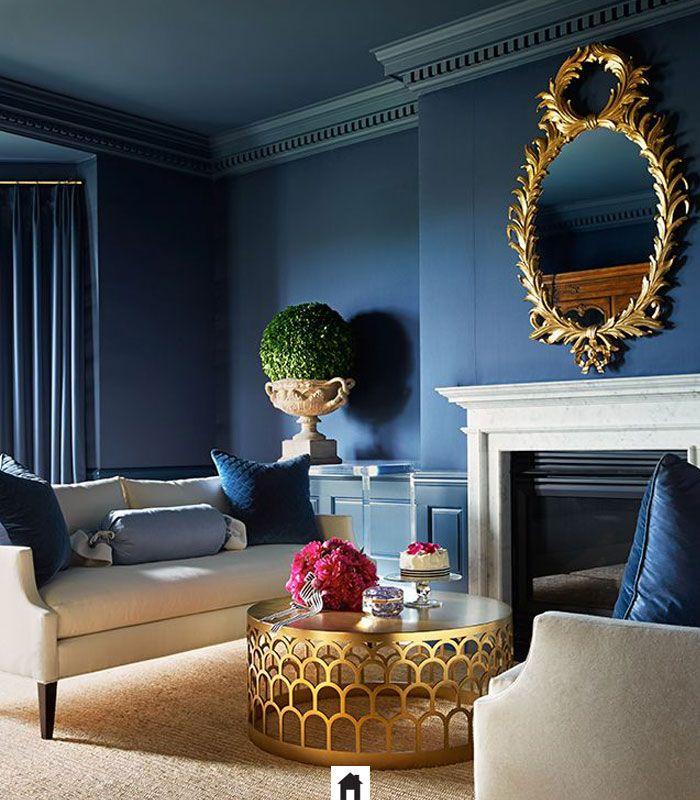 Azul na decoração calma e tranquilidade nos seus ambientes