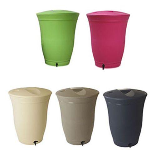 R cup rateurs eau de pluie floral 300 litres https - Recuperateurs d eau de pluie ...