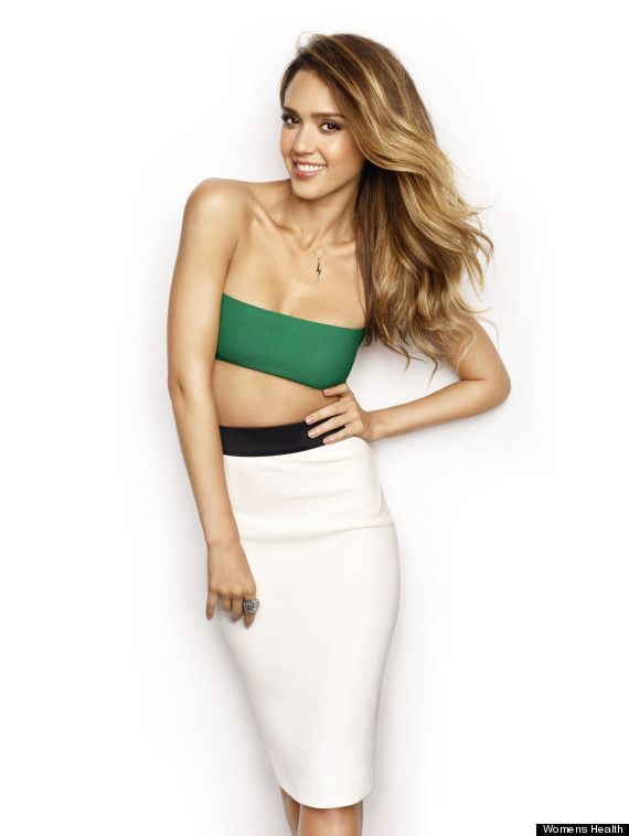 8d153f53d Jessica Alba's Sexy Women's Health Cover: Actress Reveals How She Maintains  Her Hot Body (PHOTOS
