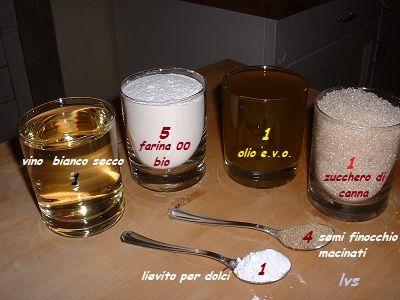 Ciambelline ... a bicchierate