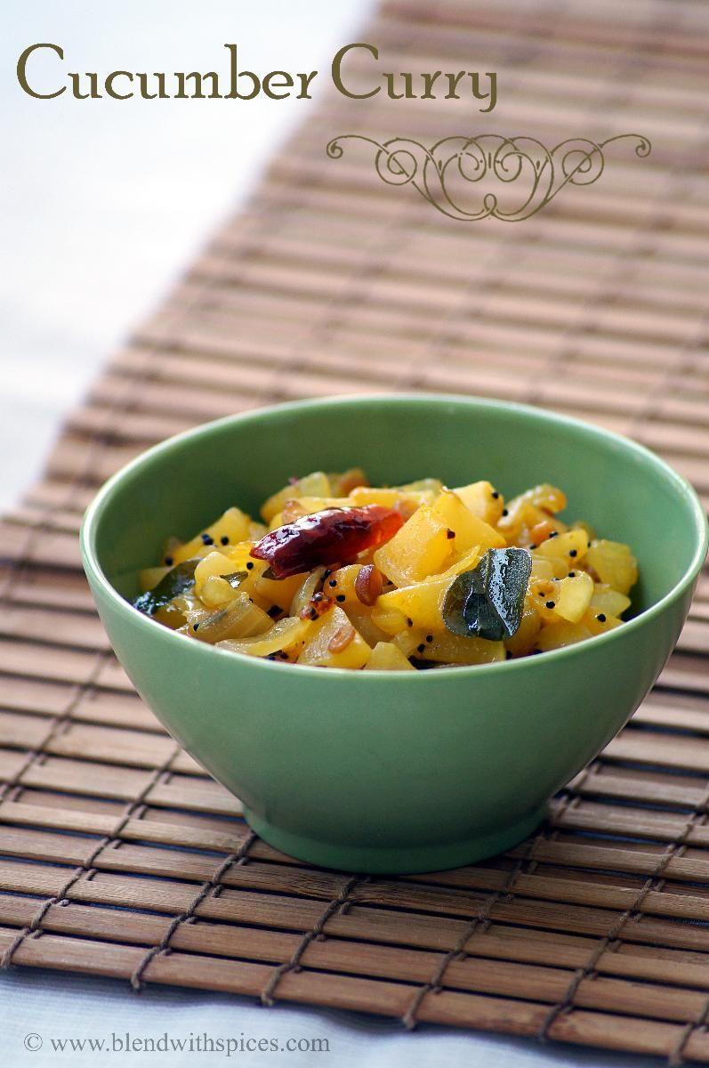 Indian Cuisine Dosakaya Koora Recipe Yellow Cucumber Curry Recipe Indian Cucumber Recipe Curry Recipes Indian Curry Recipes