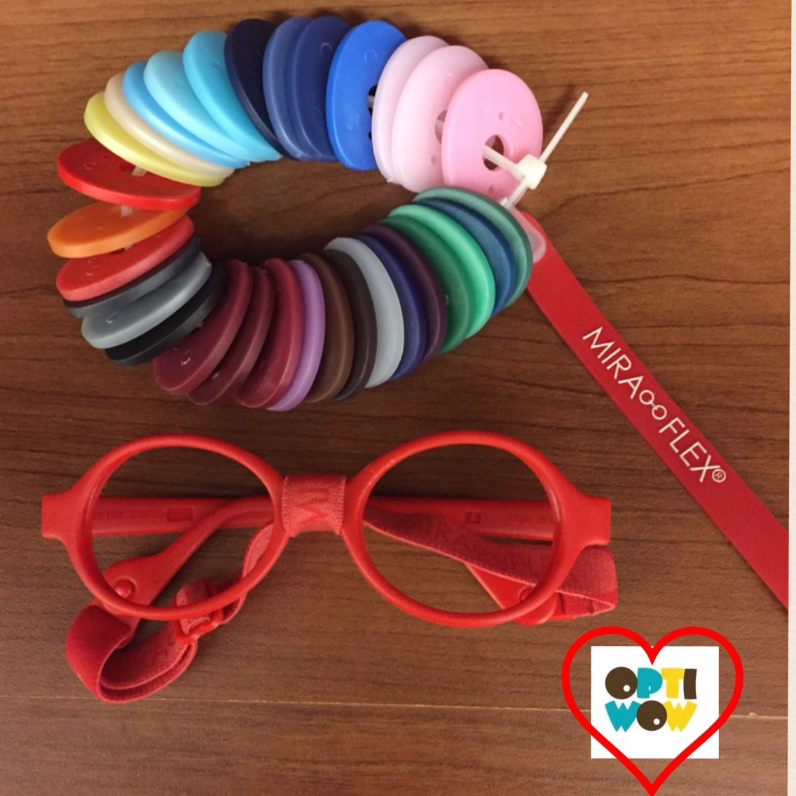 Get Your Sweetheart Red Miraflex Frames for Valentines! www.optiwow ...