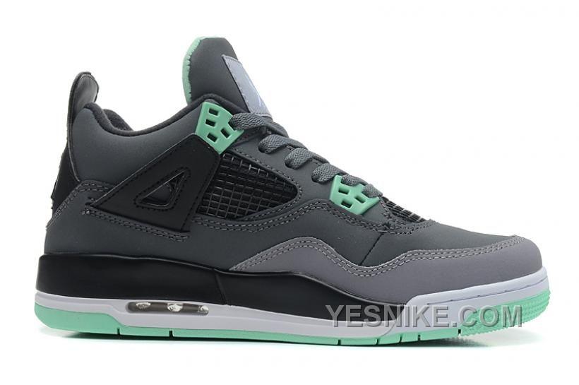 check out d4989 a7c63 ... 408452-033 Air Jordan 4 Retro GS Green Glow, Price 147.00 - Nike Shoes   136045-101 Air Jordan 5 (V) Retro White Metallic Silver Black A05006 Fashion  ...
