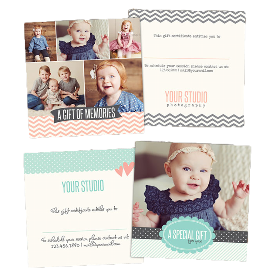 Free gift certificate photoshop templates from birdesign gift free gift certificate photoshop templates from birdesign yadclub Images