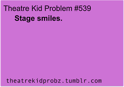 [ theatre kid problems ] show girl in Annie Oakley (entire time) and orphan in Annie (never fully dressed without a smile)