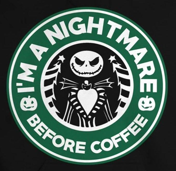 Nightmare Before Christmas Starbucks Coffee Logo Disney Starbucks Nightmare Before Christmas Jack The Pumpkin King